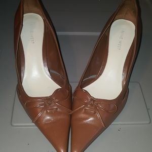 New West Brown Heels